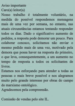 IMPORTANTE: COMPRA DE LIVROS
