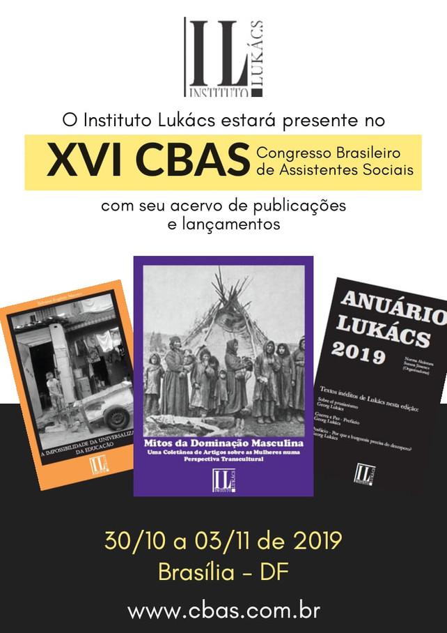 Eventos - XVI CBAS