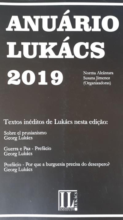 ANUÁRIO LUKÁCS 2019