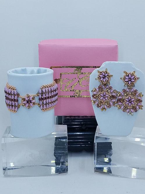 """""""Joyous"""" Bracelet & Earring Set"""