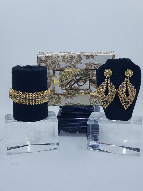 """""""Grand Harmony"""" Bracelet & Earring Set"""