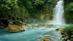 costa tour waterfall