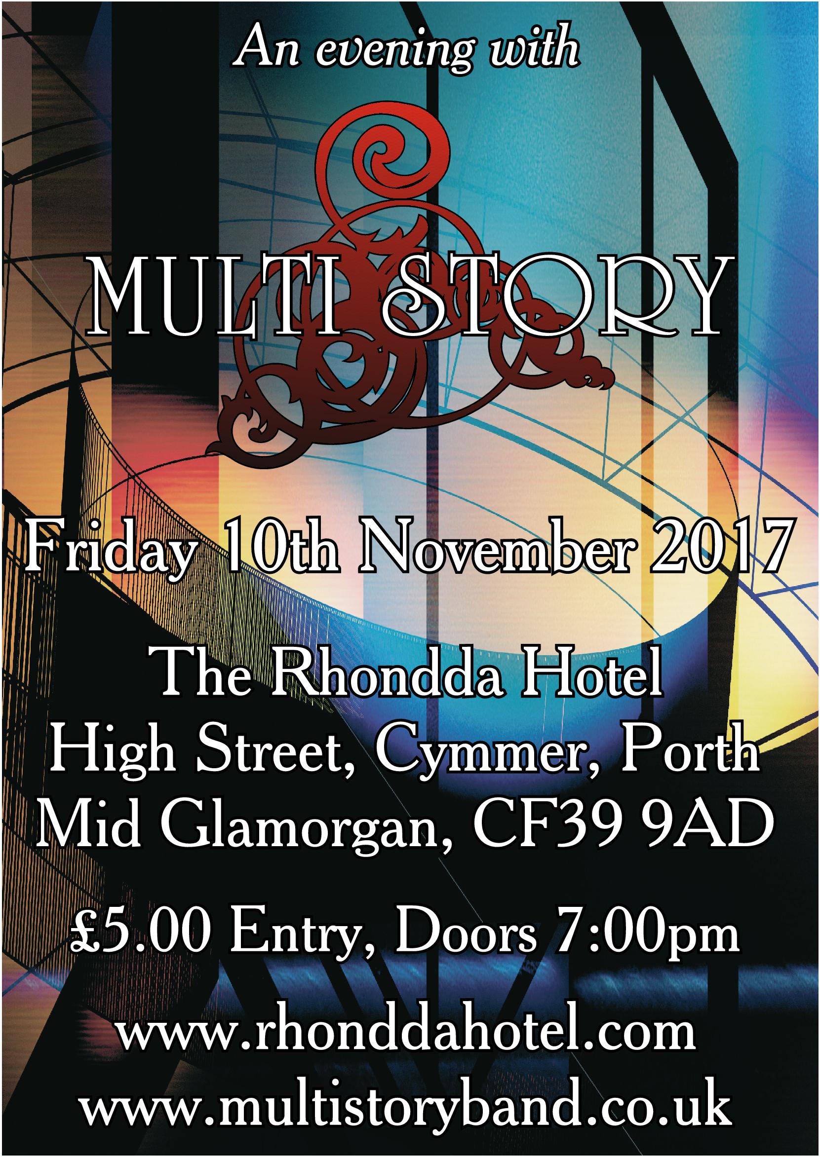 Multi_Story_Rhondda_Hotel_Gig_Poster_10-10-17
