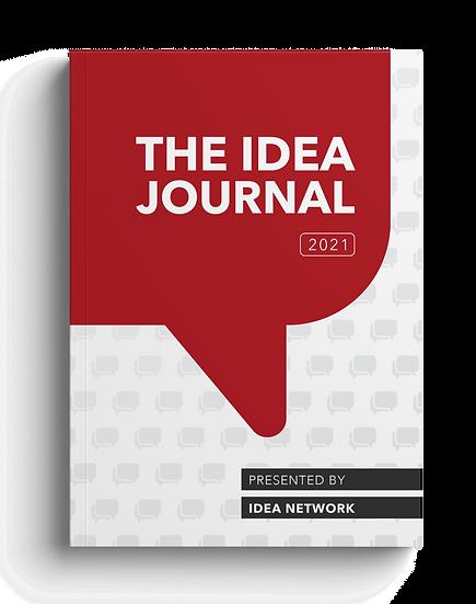 PRE-ORDER Idea Journal 2021