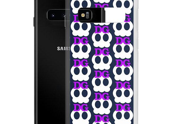 Deadgirl Skull Pattern Samsung Case