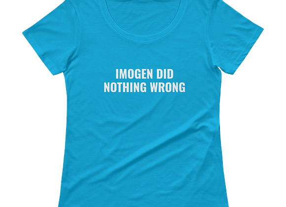 "Ladies' Scoopneck ""Imogen"" T-Shirt"