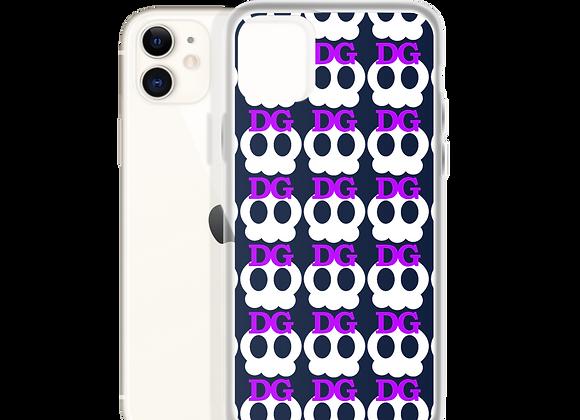 Deadgirl Skull Pattern iPhone Case