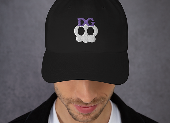 Deadgirl Skull Logo Dad Hat