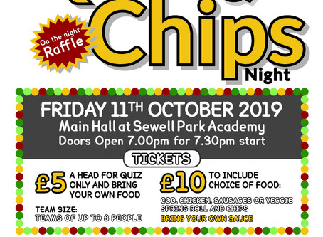 PTFA Quiz and Chips