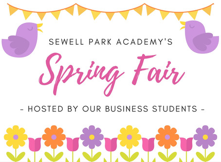 A successful Spring Fair for our Business Students!