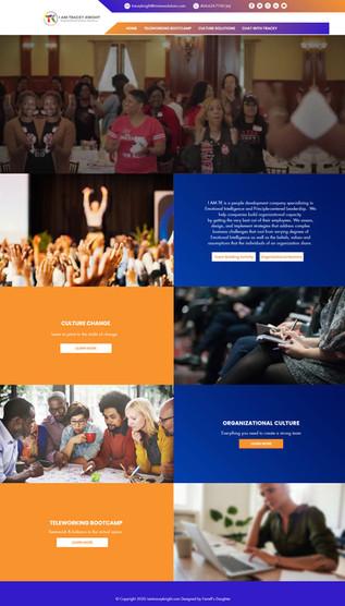 Wix Website Corporate Coaching