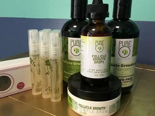 Pure O Bundle w/ Micro needle & Hair Strength Spray