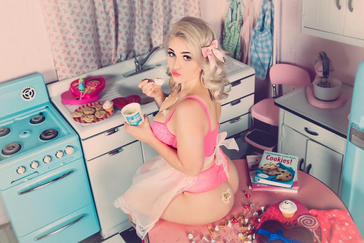 Sugar & Spice Photography Boudoir Kitche