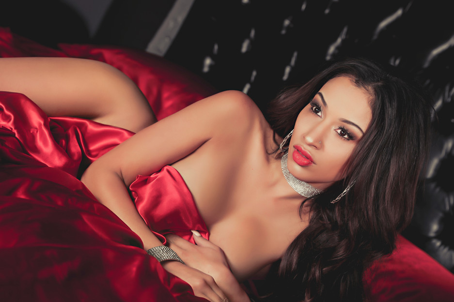 Sugar & Spice Photography Boudoir Red 40