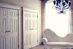 Naturally Simple Closet Wall