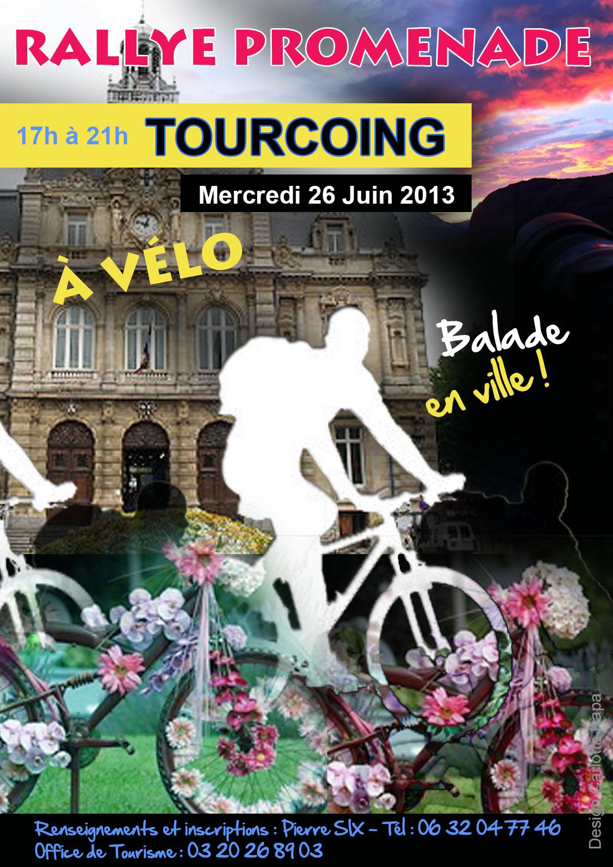 Flyer recto Rallye promenade Tourcoing