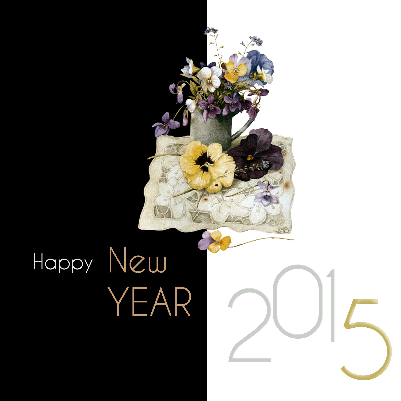 Happy_New_Year_pensée_bouquet