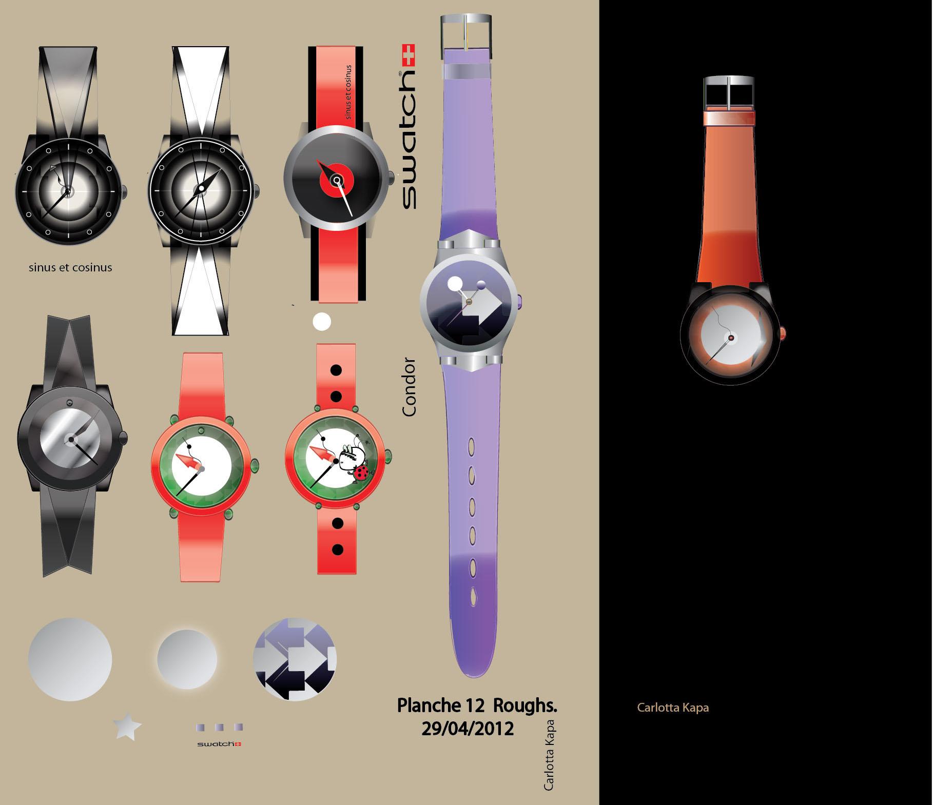 Swatch & Condor Planche 12 en cours bis (2)