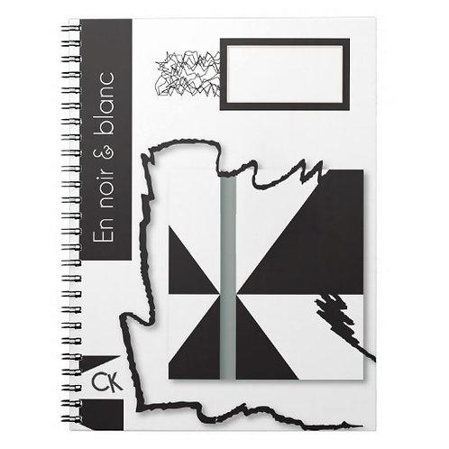 """Les note book  à spirale. Voir """"boutique créations""""."""