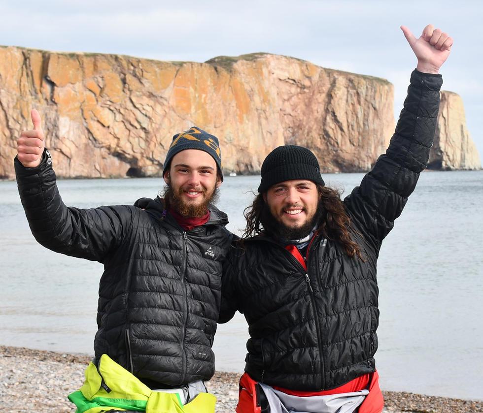 700Km en kayak de mer à l'automne