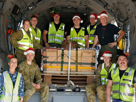 Exercise Christmas Drop brings joy to Indigenous Communities in far North Queensland