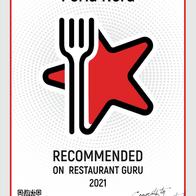 Award from Restaurant Guru