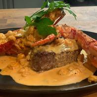 Fillet lobster