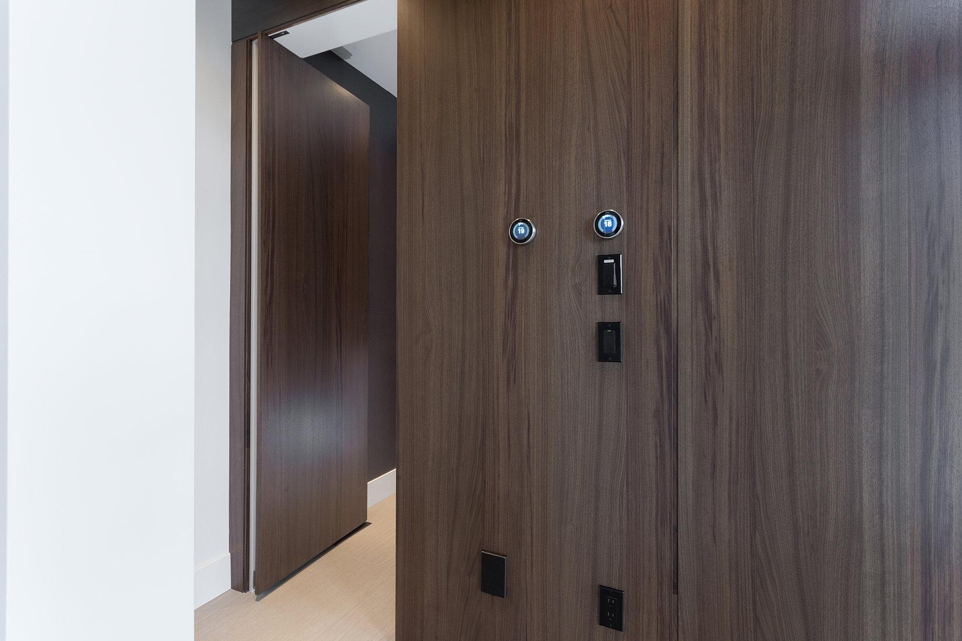 Hidden bathroom door - Hidden Main Floor Bathroom Door