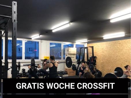 Gratis Woche CrossFit - jetzt Gutschein sichern!