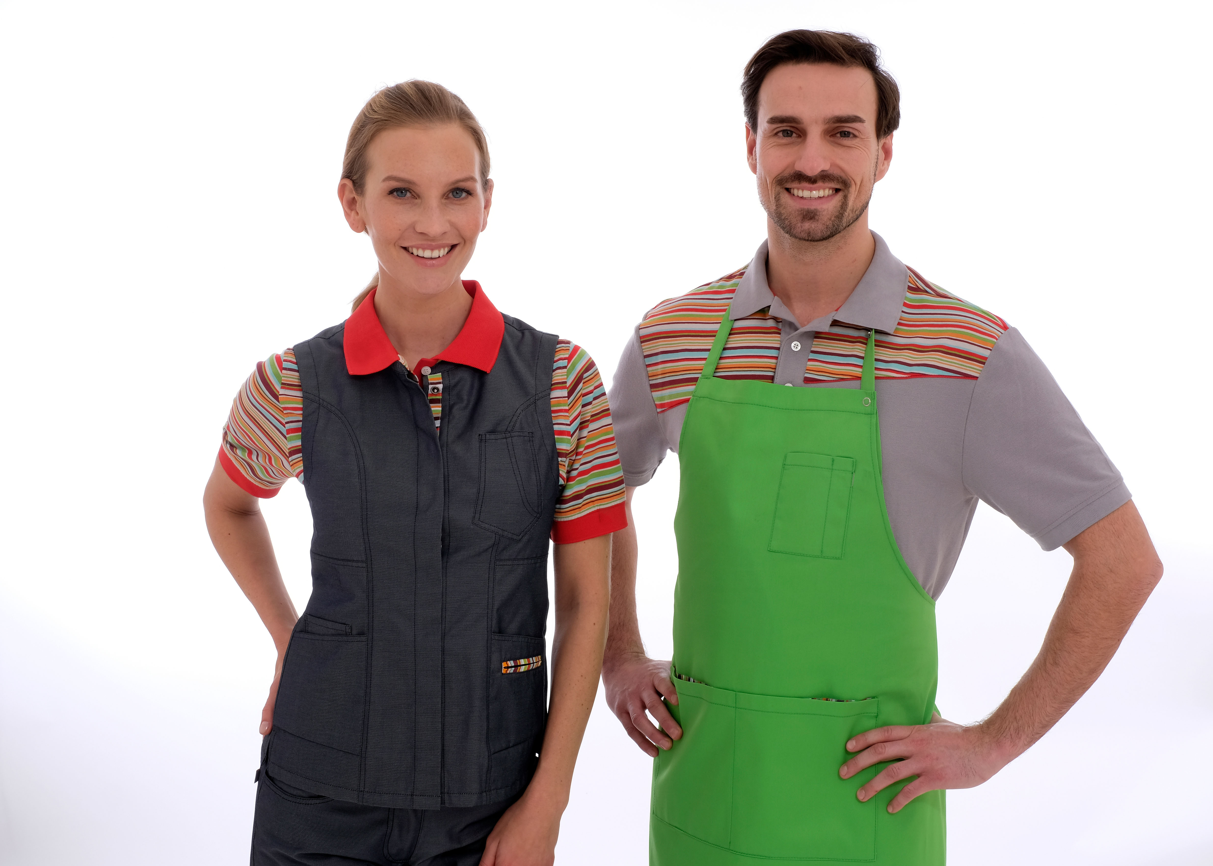 Berufsbekleidung jung