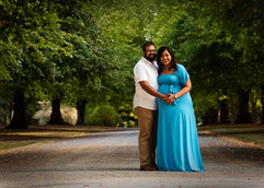 Maternity photography in park