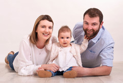 Family studio portrait