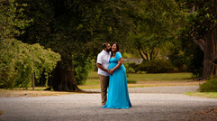 Outdoor maternity photograph