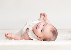 baby photography in the studio
