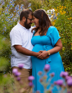 Couples maternity photograph