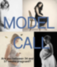 Maternity Model Call photo session