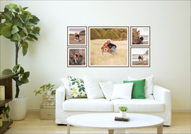 Framed wall art collection