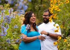 Garden Maternity photography session