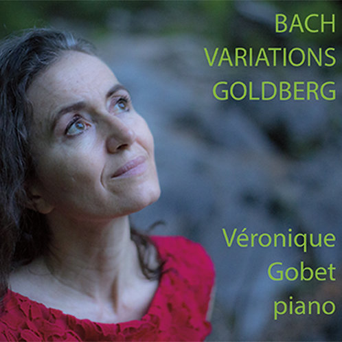 CD - Bach - Variations Goldberg - Véronique Gobet, piano