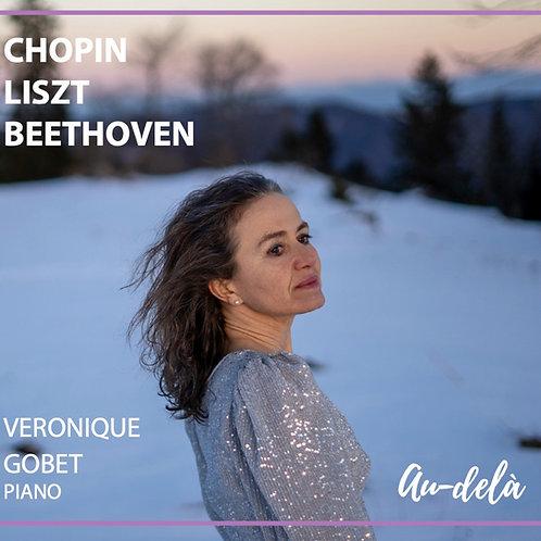 CD - Chopin - Liszt - Beethoven - Au-delà