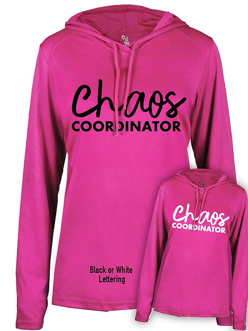 Chaos Coordinator Hooded Long Sleeve