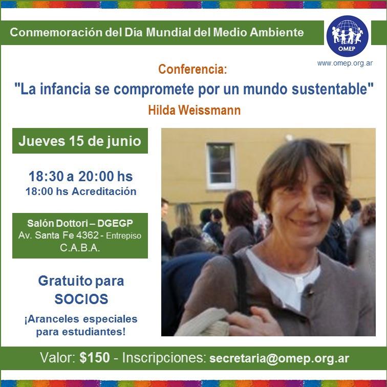 Conferencia de Hilda Weissmann 15/6/17