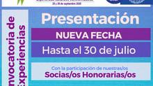 Convocatoria a presentación de experiencias para el 13° Encuentro Internacional