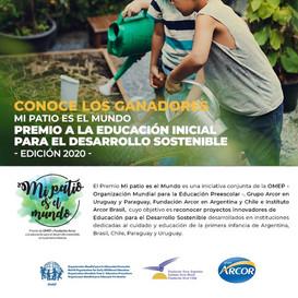 """Premio """"Mi patio es el mundo"""" - Ganadores 2020"""