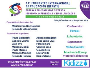 Especialistas del 11° Encuentro