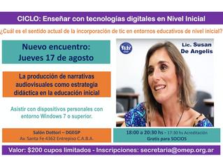 Enseñar con tecnologías digitales en el nivel inicial