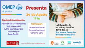 Presentación de la nueva publicación de OMEP Argentina