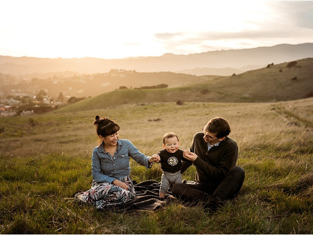 Family Photo Session, Tiburon CA