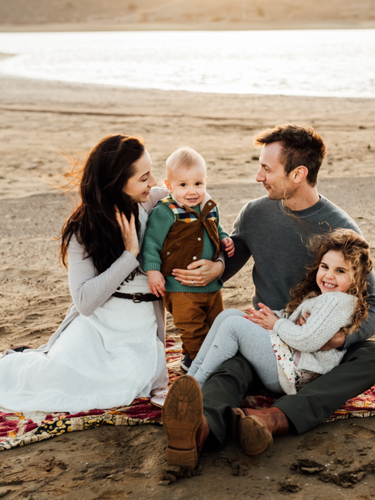 Sunset family session, lifestyle photographer for northern california, diana jex photography