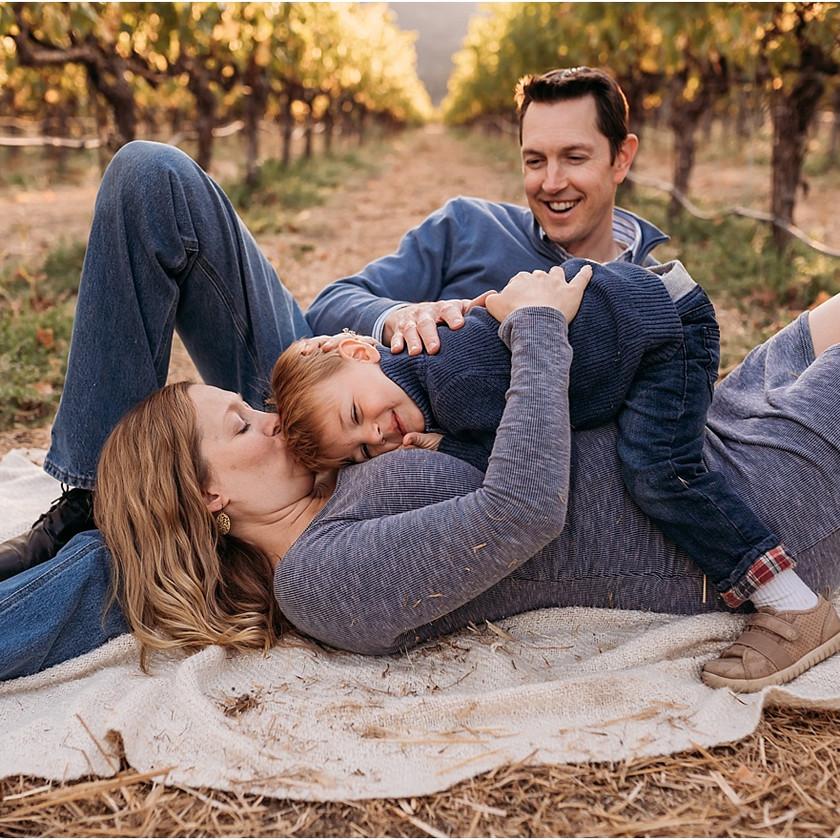 family, vineyard, Napa,